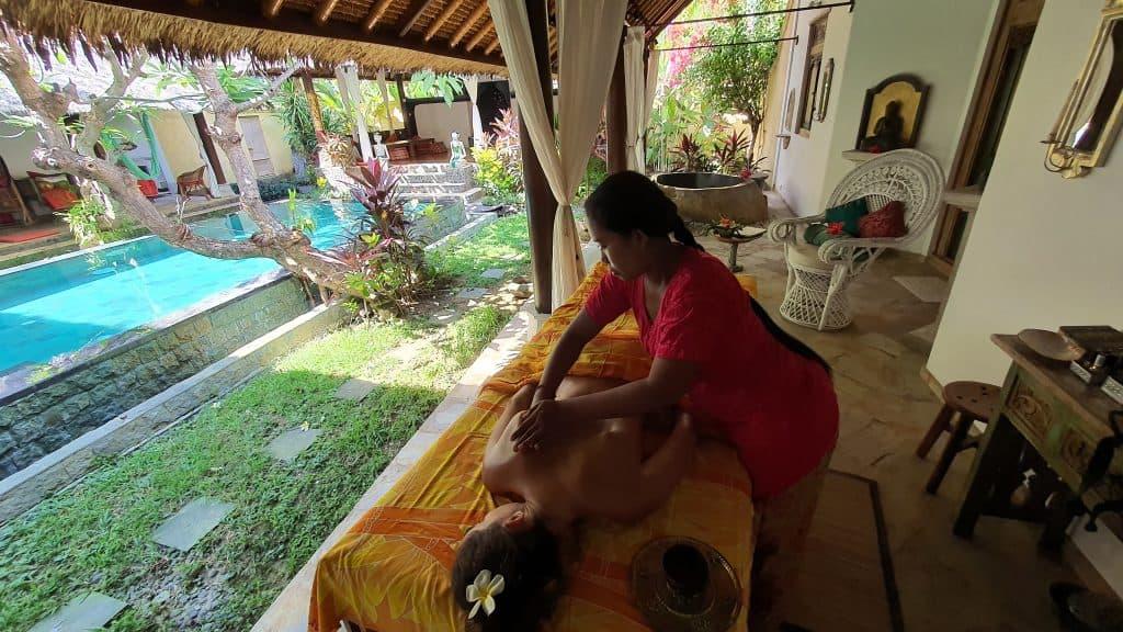 Massage with Putu